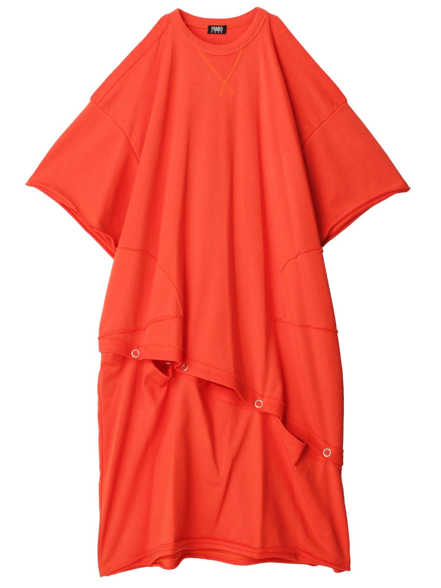 短纤针织衫连衣裙