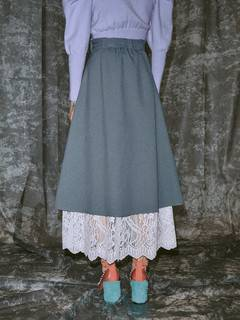 PAMEO POSE(パメオポーズ) |Layered Wrap Skirt 画像05