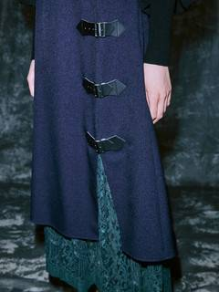 PAMEO POSE(パメオポーズ) |Layered Wrap Skirt 画像010