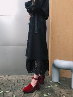 PAMEO POSE(パメオポーズ) |Layered Wrap Skirt 画像12