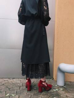 PAMEO POSE(パメオポーズ) |Layered Wrap Skirt 画像13