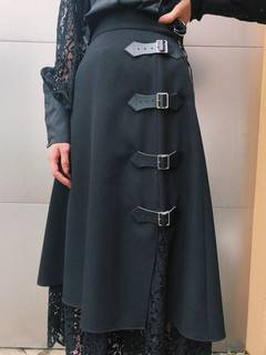 PAMEO POSE(パメオポーズ) |Layered Wrap Skirt 画像14