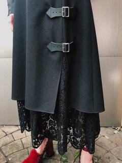 PAMEO POSE(パメオポーズ) |Layered Wrap Skirt 画像15
