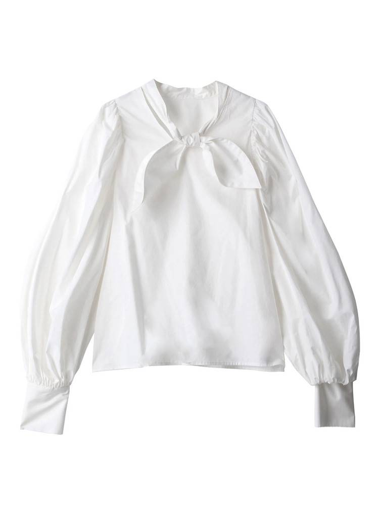 Back To Front Tie Blouse