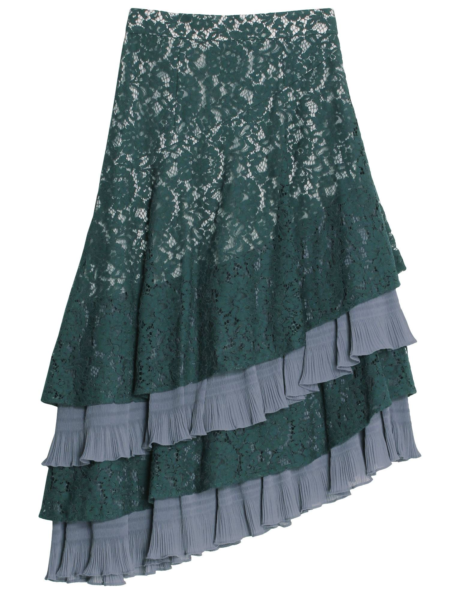 [20Summer]Lace Midi Skirt