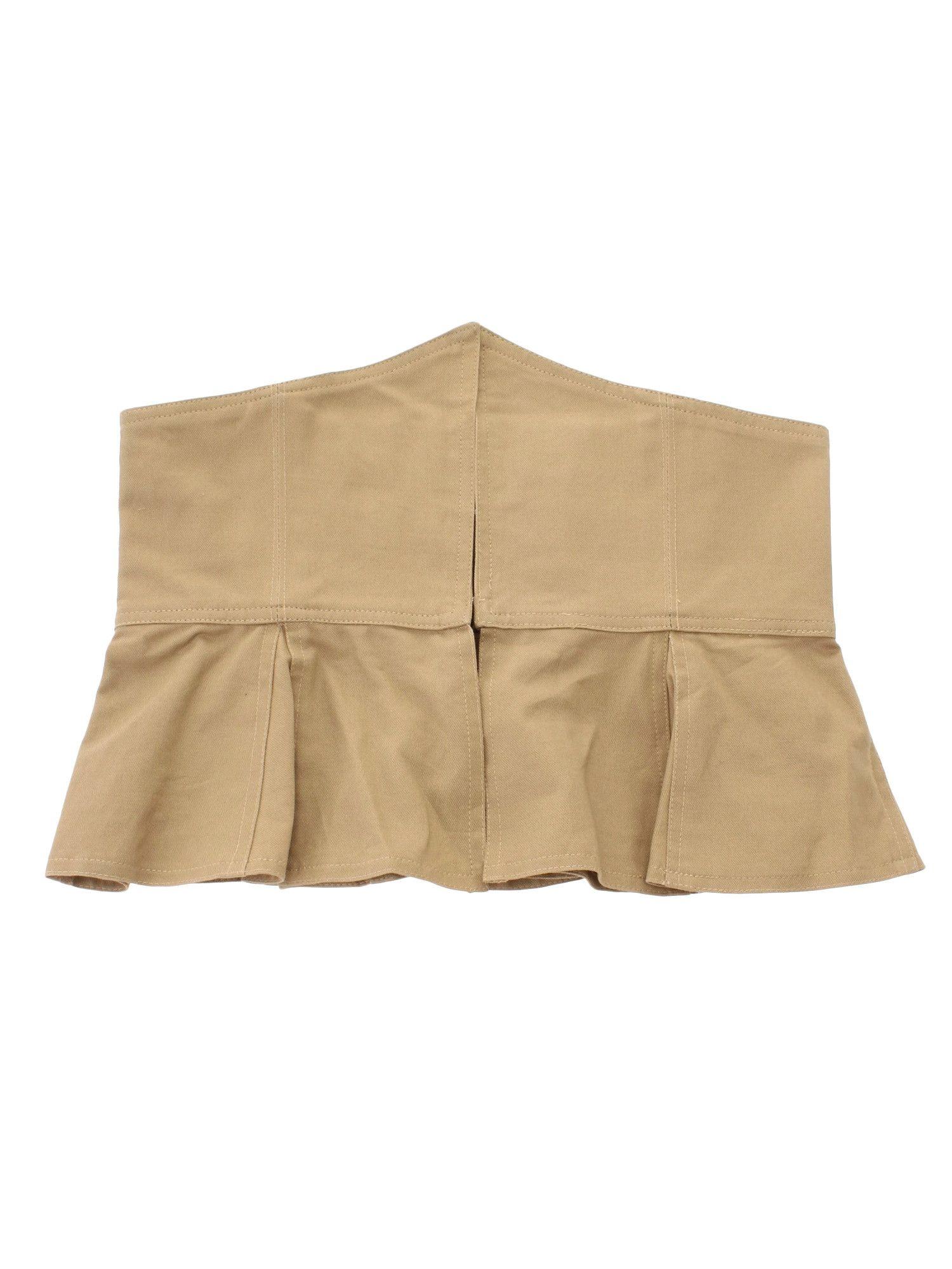 Skirt style belt