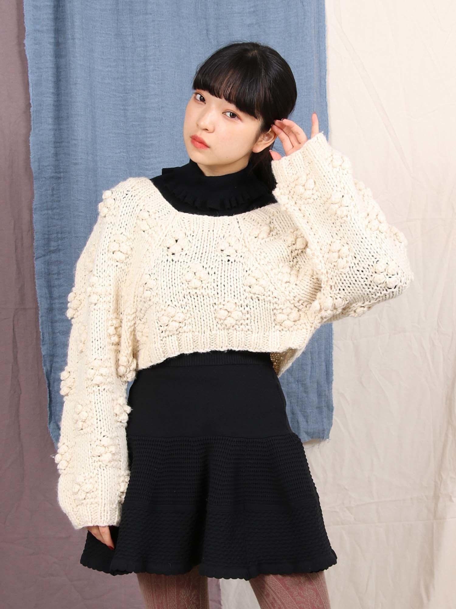 Loose short knit