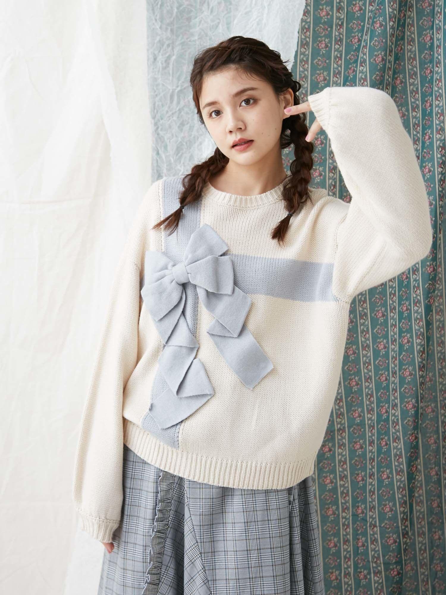 Present ribbon knit