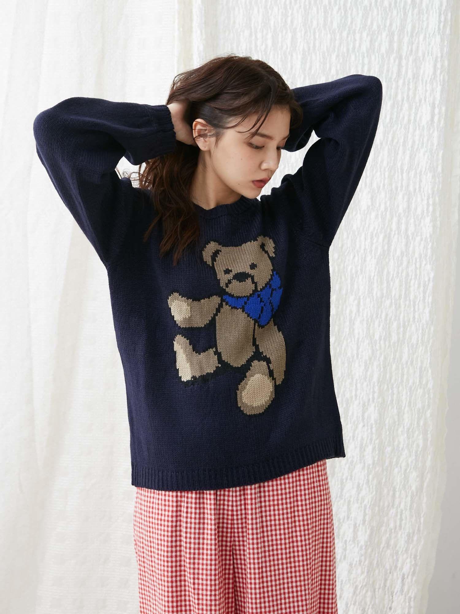 teddy knit