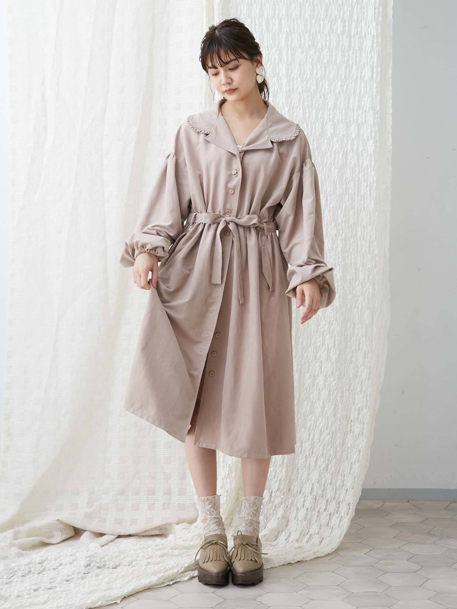 2way trench dress