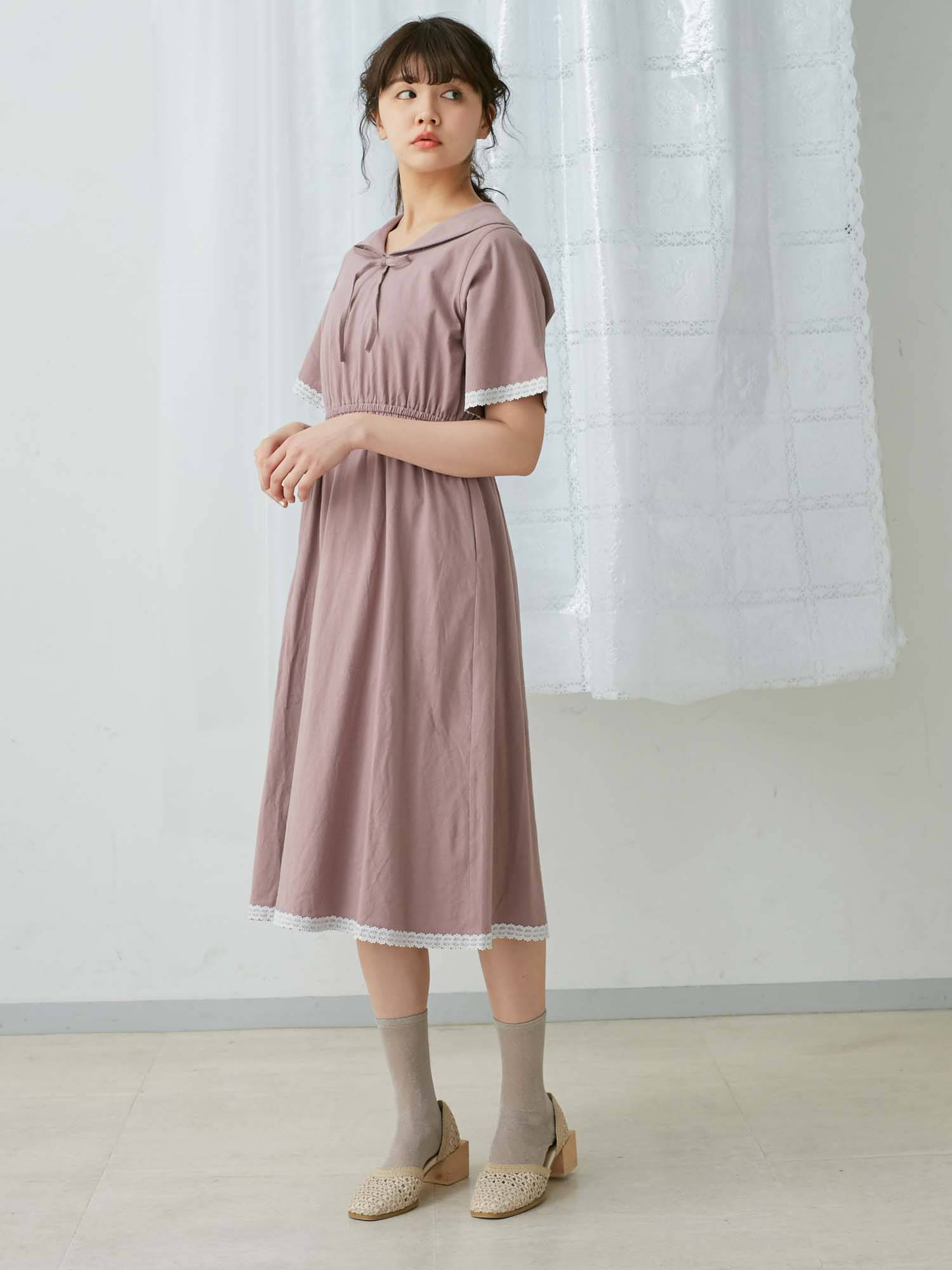 Cut Sailor Dress