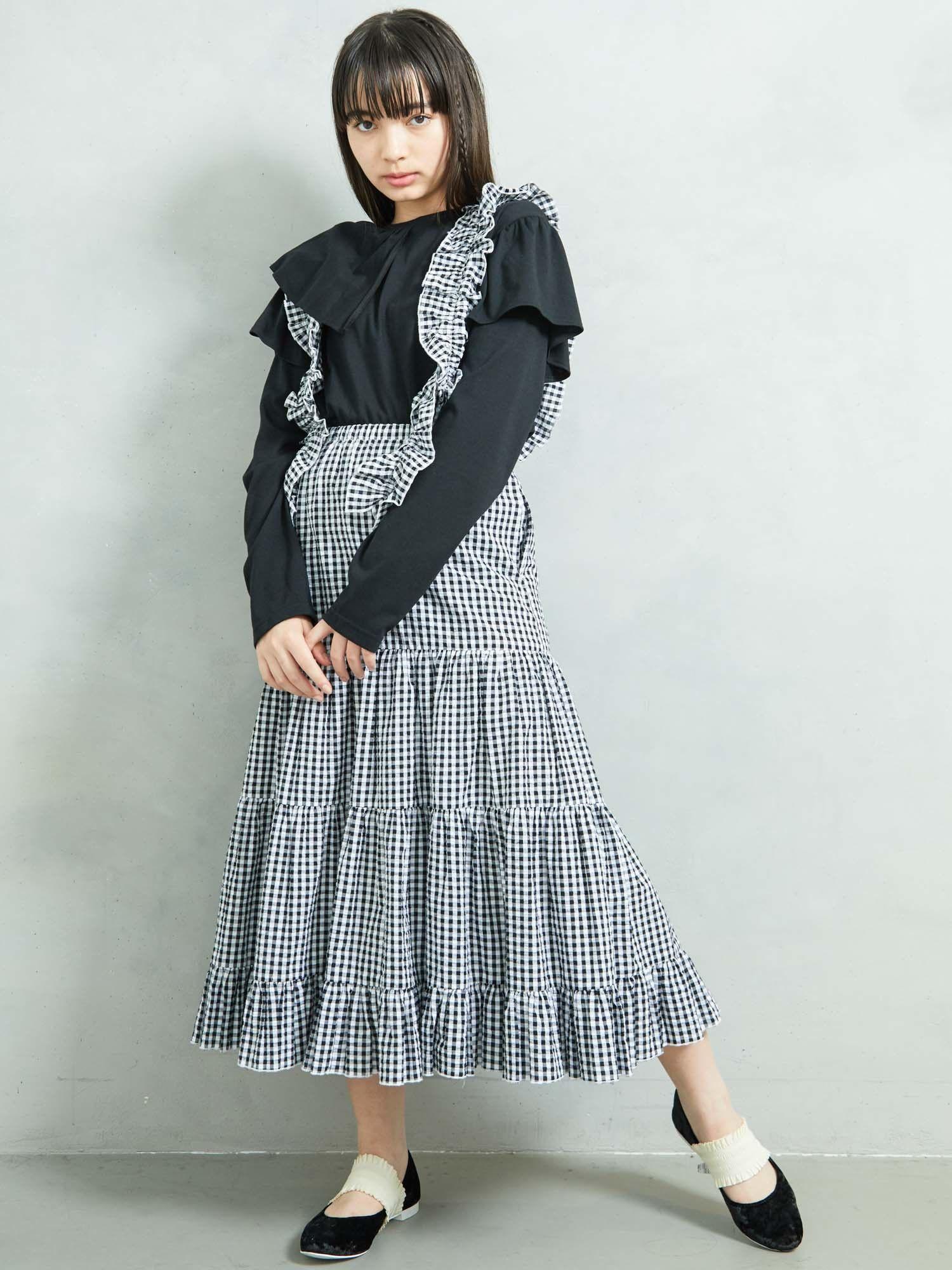 廉價懸浮層疊裙
