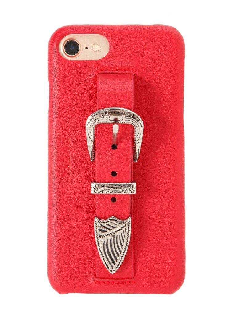 【WEB限定】≪7Plus対応≫スカルプチャーバックルベルトiPhoneケース