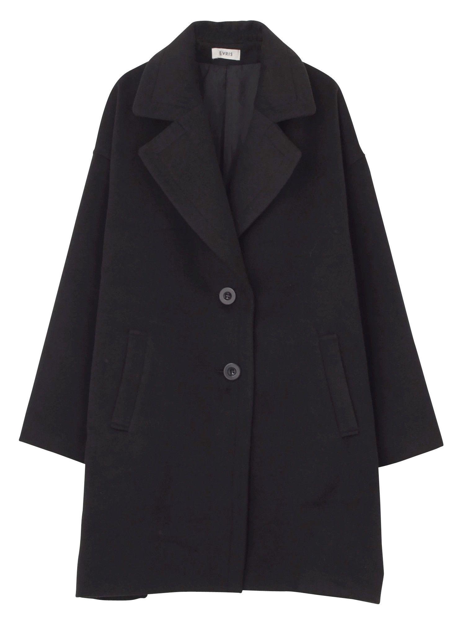 Fake Wool loose coat