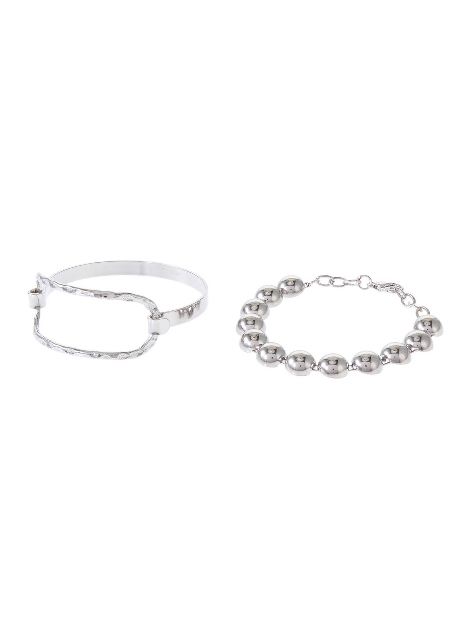 Ball chain metal bracelet