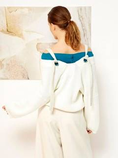 ELENDEEK(エレンディーク) |SHOULDER TAPE KNIT CARDIGAN 画像15