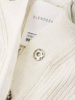 ELENDEEK(エレンディーク) |SHOULDER TAPE KNIT CARDIGAN 画像19