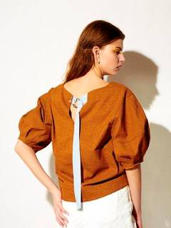 ELENDEEK(エレンディーク) |RUSTIC STATEMENT SLEEVE BLOUSE 画像010