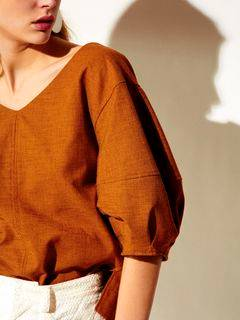 ELENDEEK(エレンディーク) |RUSTIC STATEMENT SLEEVE BLOUSE 画像11