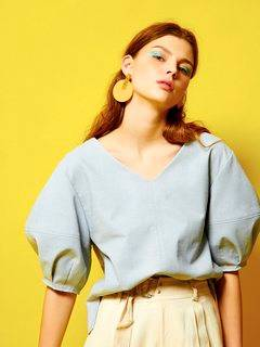 ELENDEEK(エレンディーク) |RUSTIC STATEMENT SLEEVE BLOUSE 画像14