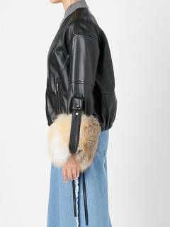 ELENDEEK(エレンディーク) |V NECK LEATHER FUR BLOUSON 画像12