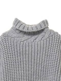 ELENDEEK(エレンディーク) |BIAS CABLE TURTLE KNIT 画像12