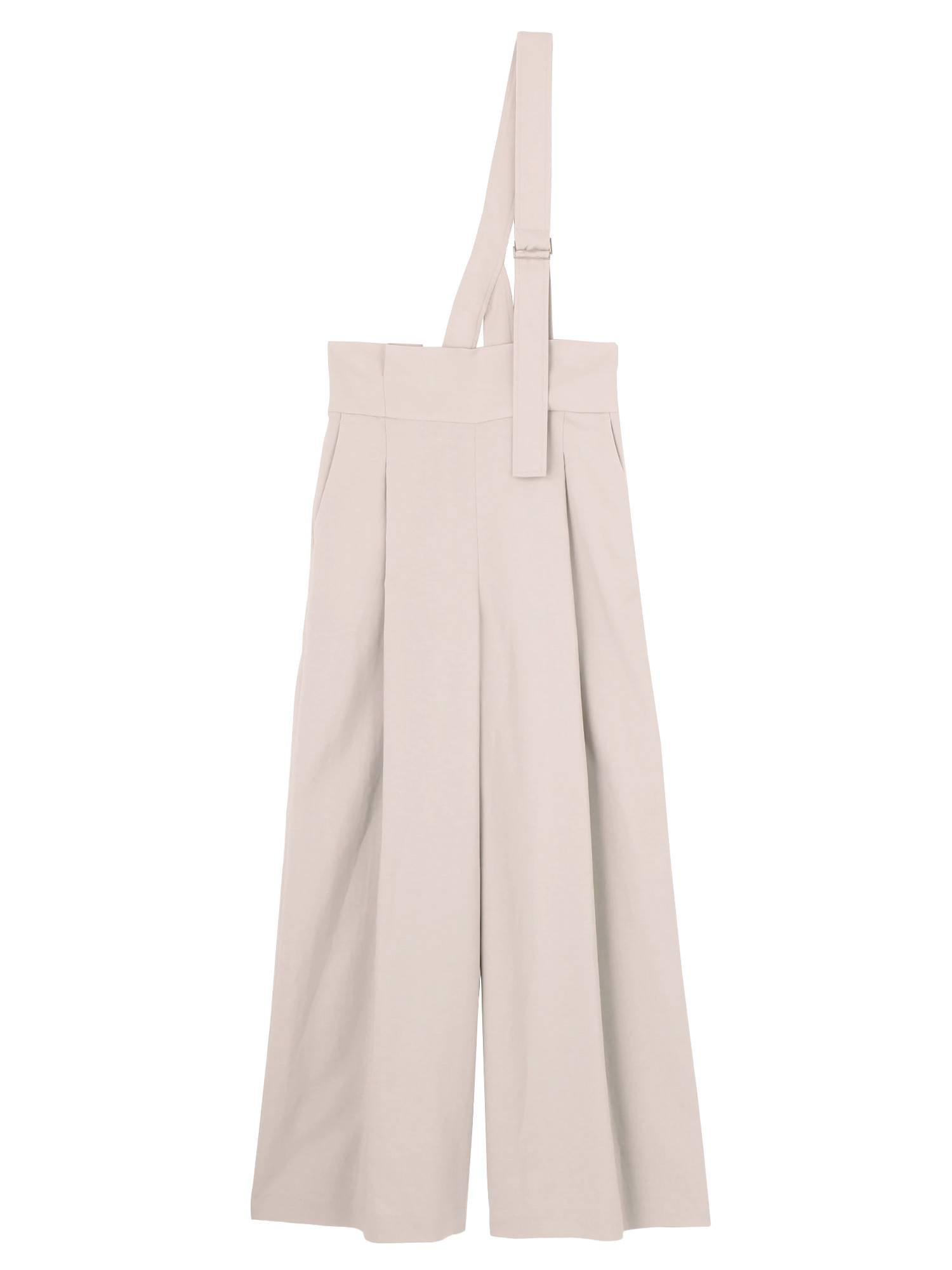 ONE SHOULDER LINEN WIDE PT