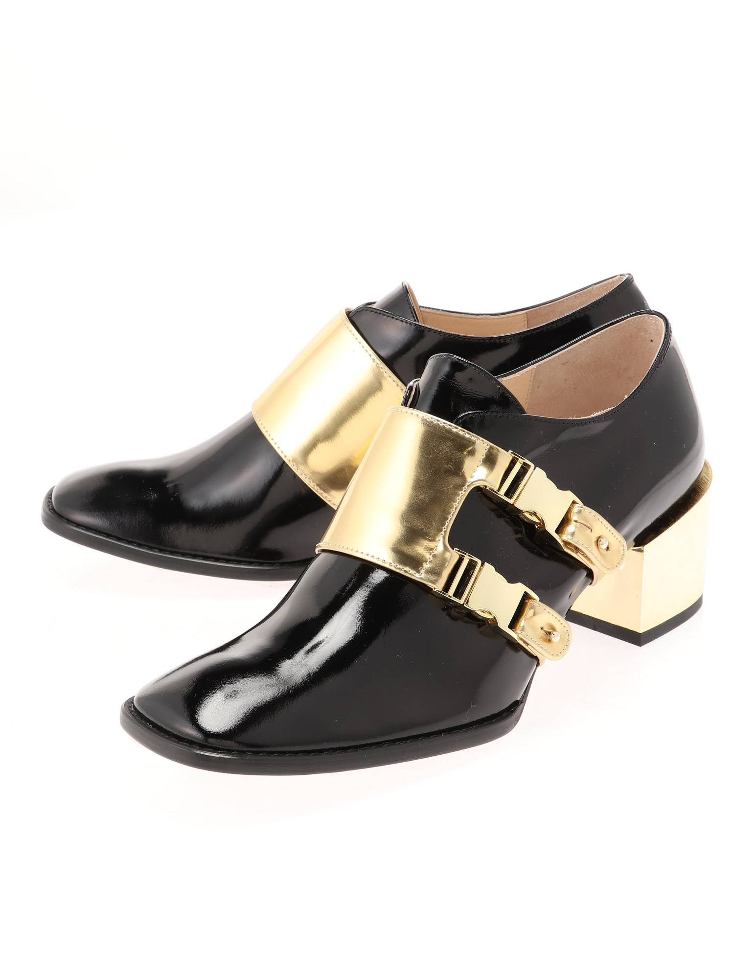 SIDE BUCKLE MANNISH SHOES