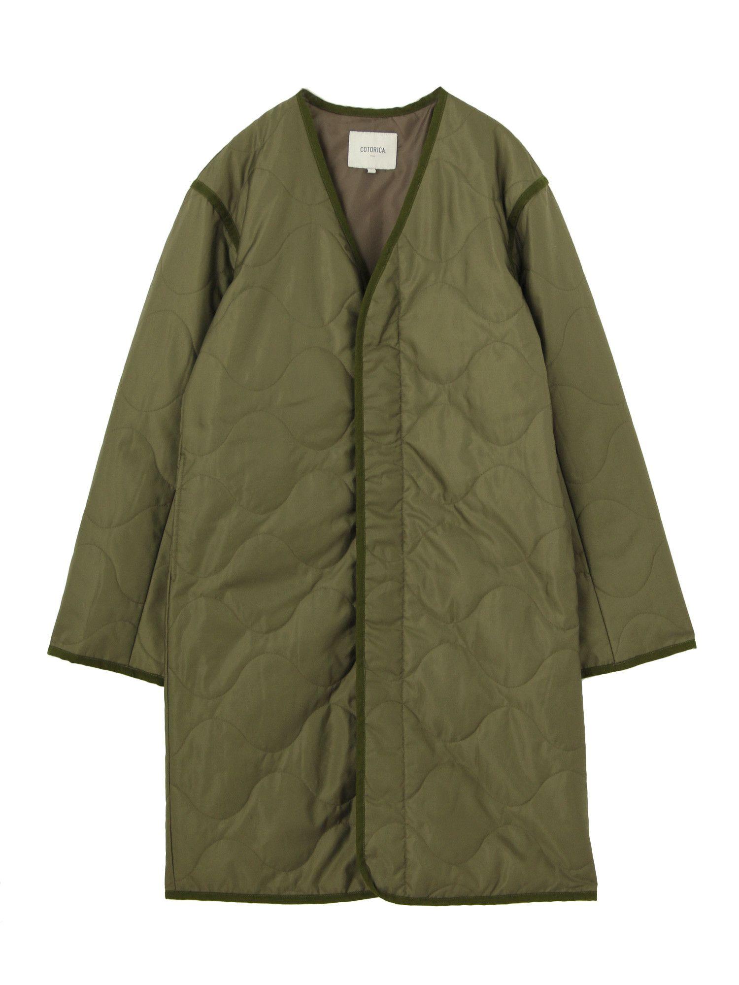 [WOMEN] Military liner coat