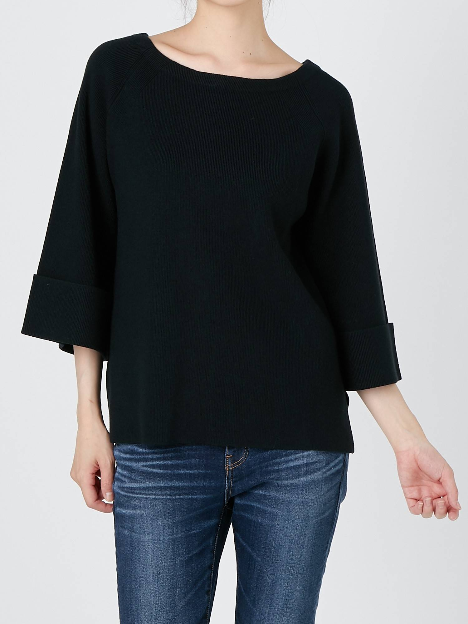 [WOMEN] local air La Raglan Pullover