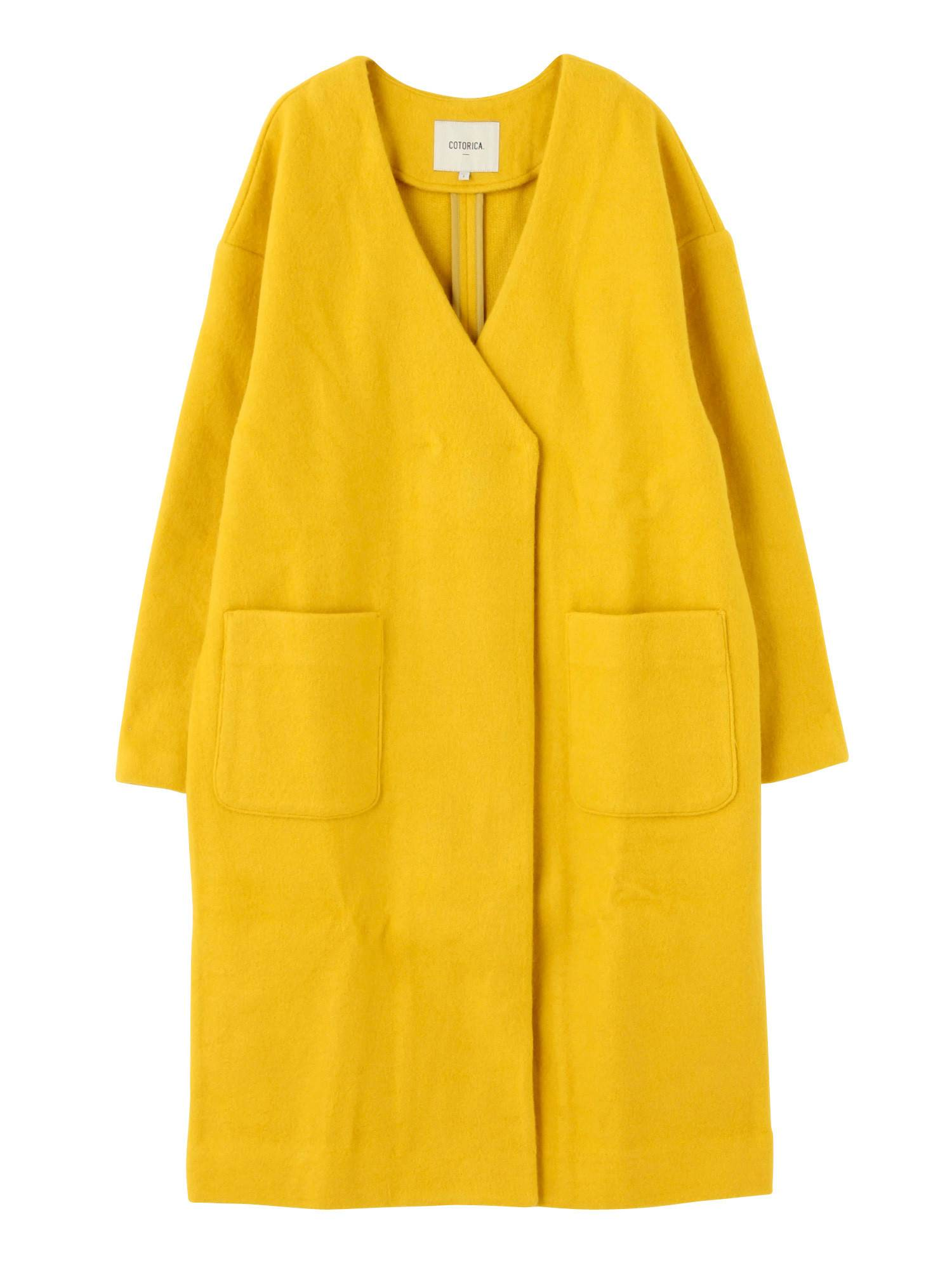 [WOMEN] No color jersey coat