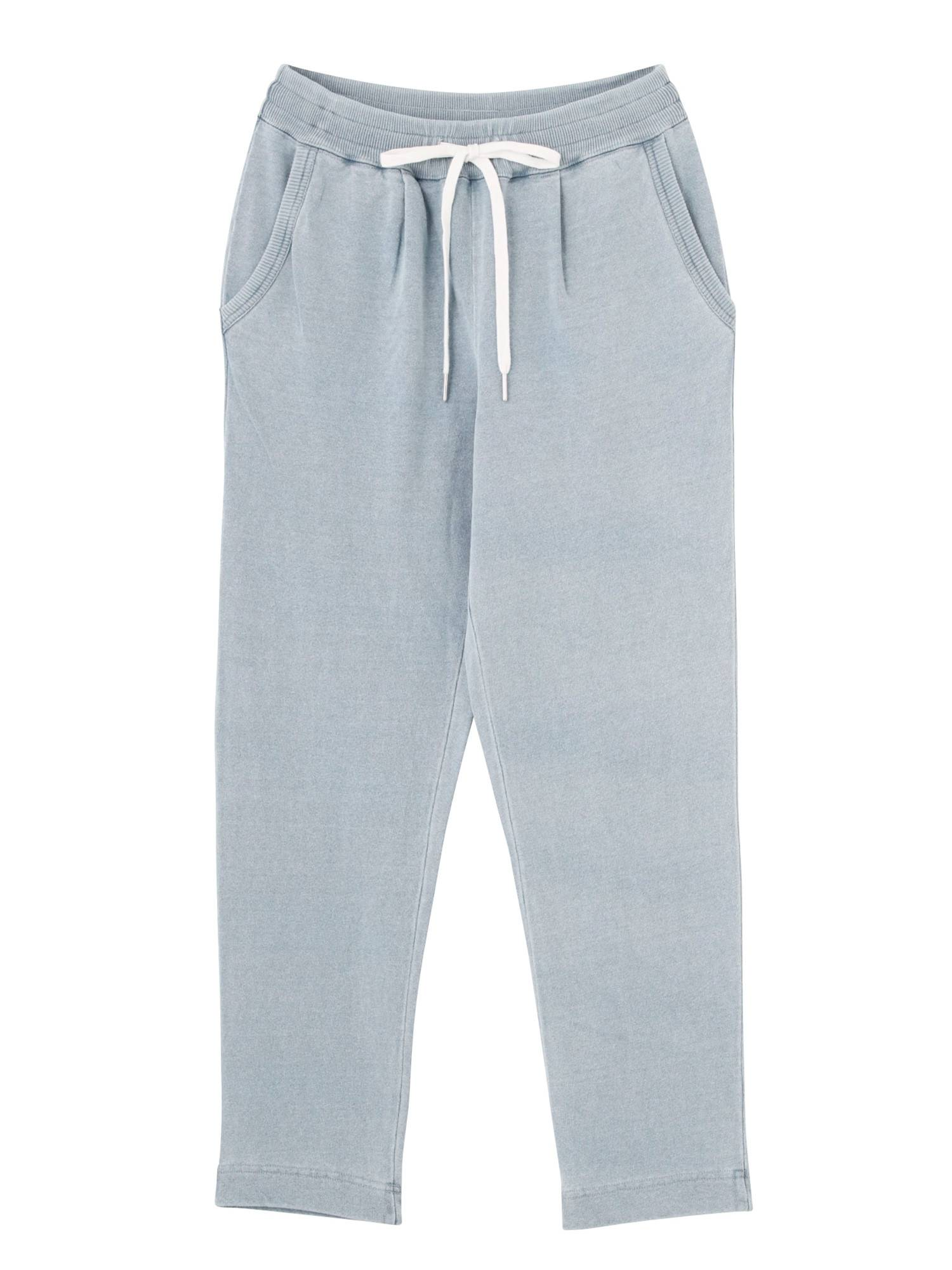 [WOMEN] Indigo fleece pants