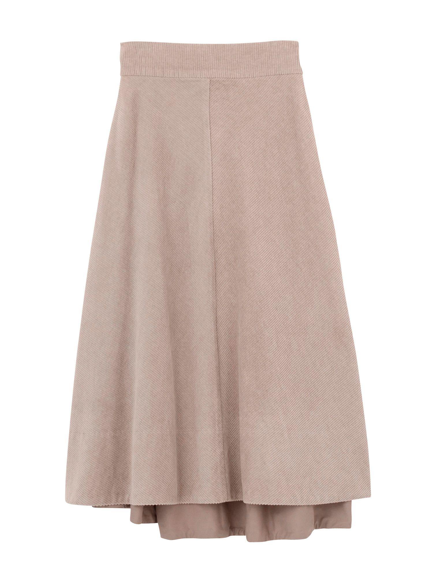 灯芯绒裙子