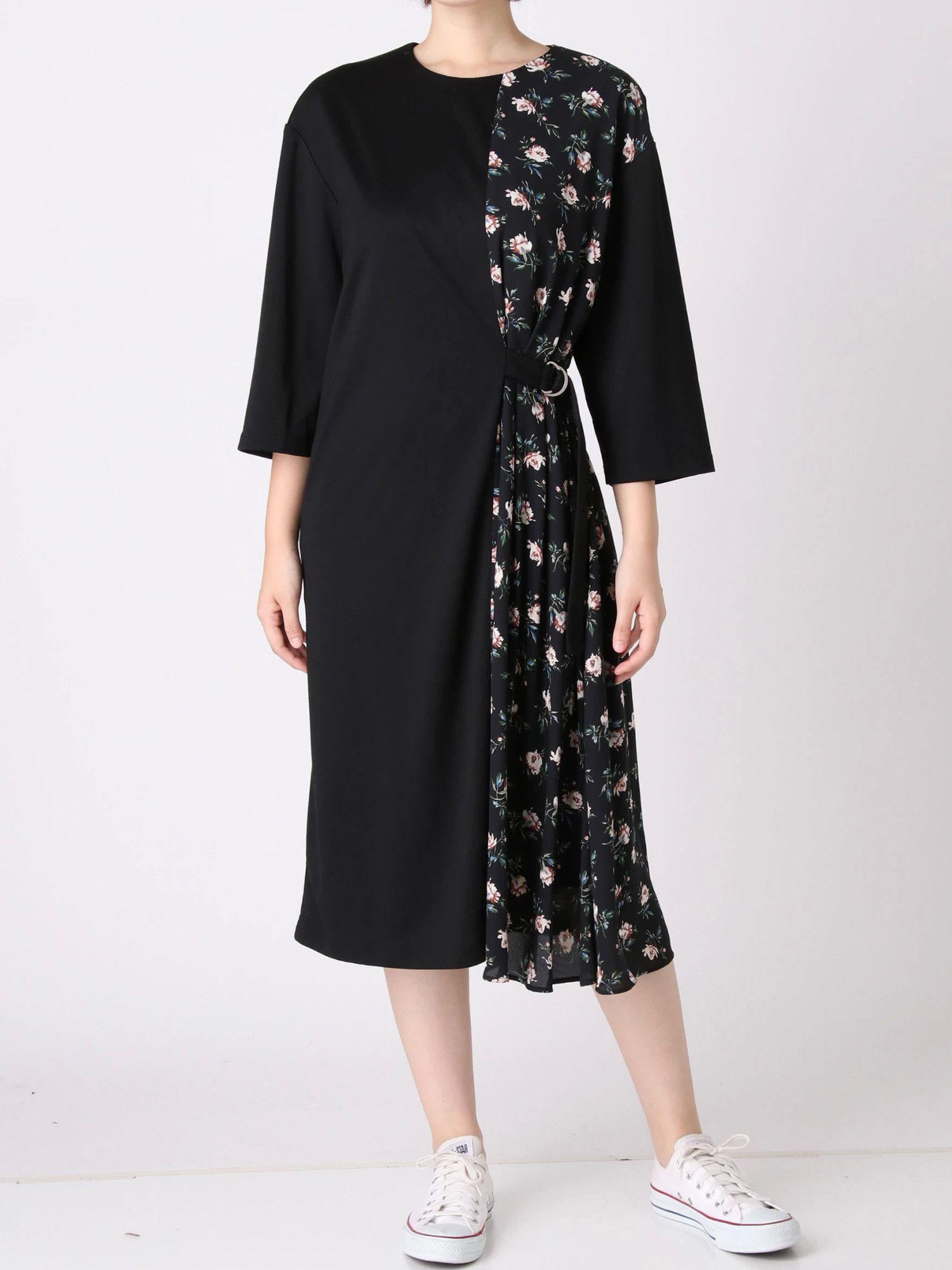 Flower Layered-style dress