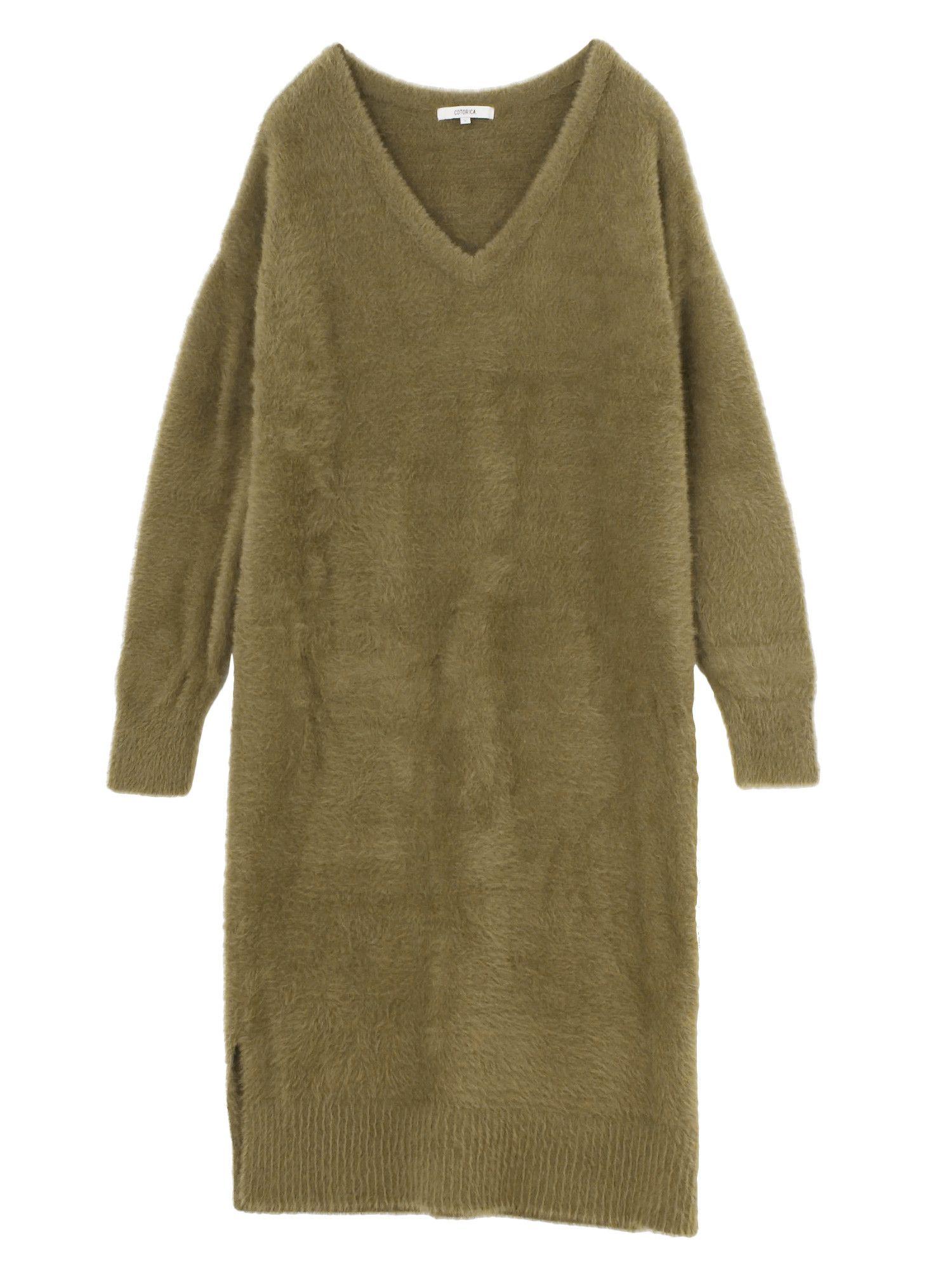 羽針織連衣裙